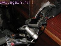 Изготовление велокрепления для GPS-навигатора Garmin 60CSx.