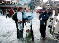 О женских сноубордах