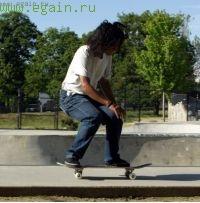 Как сделать Ollie (Олли) приземление на скейт