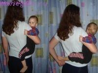 Как носить ребенка на бедре