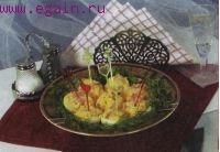 Яйца, фаршированные ветчиной