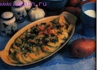 Картофель, запеченный с пармезаном
