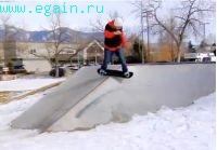 Где кататься на скейте, когда на улице холодно мокро или морозно
