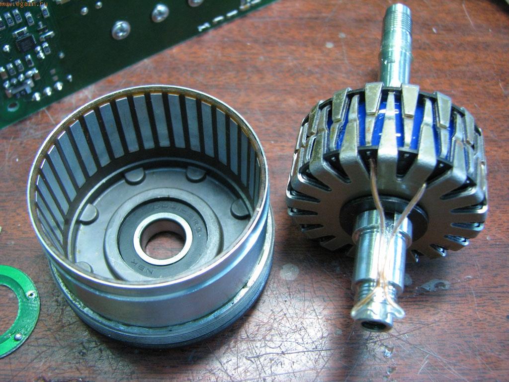 Как сделать ротор для генератора 650
