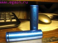 Исследование ёмкости Li-ion аккумуляторов формфактора 18650
