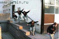 Как правильно падать со скейта