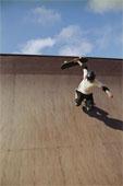 Как правильно падать в рампе со скейта